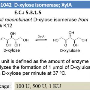 D-xylose isomerase ; XylA