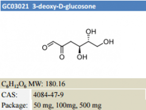 3-deoxy-D-glucosone