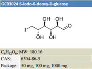 6-iodo-6-deoxy-D-glucose