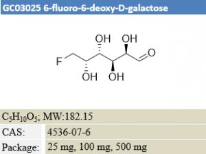 6-fluoro-6-deoxy-D-galactose