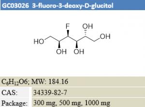 3-fluoro-3-deoxy-D-glucitol