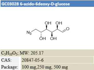 6-azido-6-deoxy-D-glucose