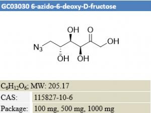 6-azido-6-deoxy-D-fructose