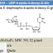 UDP-4-azido-4-deoxy-D-Glc